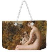 Venus And Cupid  Weekender Tote Bag
