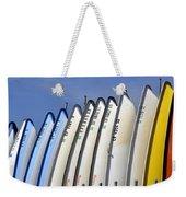 Veritcal Bow Weekender Tote Bag