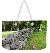 Vermont Stone Wall Weekender Tote Bag