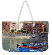 Vernazza's Harbor Weekender Tote Bag