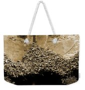 Verona Courtyard II In Sepia Weekender Tote Bag