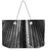 Vertical Horizon Weekender Tote Bag by Yhun Suarez