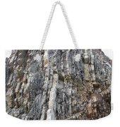 Vertical Sedimentary Strata Weekender Tote Bag