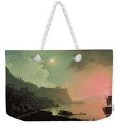 Vesuvius From Posillipo Weekender Tote Bag by Joseph Wright of Derby