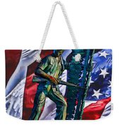 Veteran Warrior Weekender Tote Bag