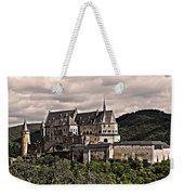 Vianden Castle - Luxembourg Weekender Tote Bag by Juergen Weiss