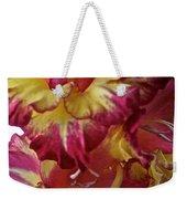 Vibrant Gladiolus Weekender Tote Bag by Susan Herber