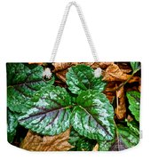 Vibrant Ground Cover  Weekender Tote Bag