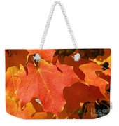 Vibrant Maple Weekender Tote Bag