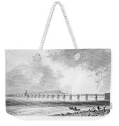 Victoria Bridge Weekender Tote Bag