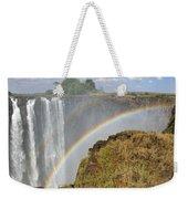 Victoria Falls Weekender Tote Bag by Tony Beck
