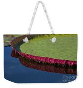 Victoria Amazonica Leaf Weekender Tote Bag