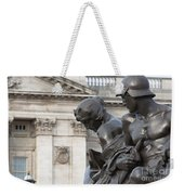 Victoria Memorial Fountain Weekender Tote Bag