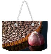 Victoria Amazonica Giant Water Lily Weekender Tote Bag