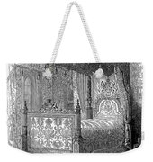 Victorian Bed, 1846 Weekender Tote Bag
