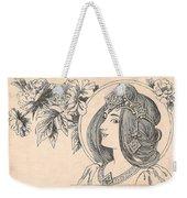 Victorian Lady - 4 Weekender Tote Bag