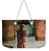 Victorian Lady By Brick Archway Weekender Tote Bag