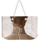 Victorian Lady From Behind Weekender Tote Bag
