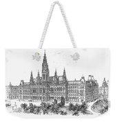 Vienna: City Hall, 1889 Weekender Tote Bag