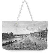 Vienna: Danube, 1821 Weekender Tote Bag