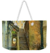 Viennese Side Street Weekender Tote Bag