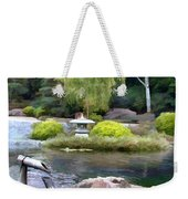 View Across The Pond Weekender Tote Bag