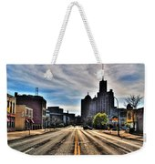 View Down Broadway Into Downtown Buffalo Ny Vert Weekender Tote Bag
