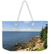 View From Bass Harbor Light Weekender Tote Bag
