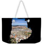 View From Inside Of The Gibraltar Rock Weekender Tote Bag