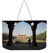 View From Inside The Red Fort With Tourist Weekender Tote Bag