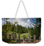 View From Picket Fence Weekender Tote Bag