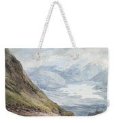 View From Skiddaw Over Derwentwater  Weekender Tote Bag