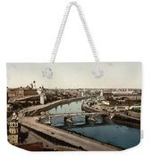 view from St Saviours - Moscow - Russia Weekender Tote Bag