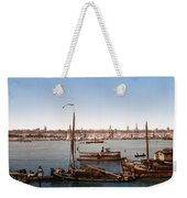 View From The Bastille - Bordeaux - France Ca 1900 Weekender Tote Bag by International  Images