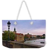 View From The Charles Bridge Revisited Weekender Tote Bag