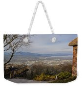 View From The Home On Top Of The Hill Weekender Tote Bag