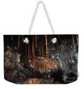 View Inside Kaumana Lava Tube, Hawaii Weekender Tote Bag