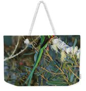 View Of A Male Resplendent Quetzal Weekender Tote Bag