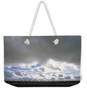 View Of A Train Carrying Coal Weekender Tote Bag