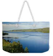 View Of Boulardarie Island From Seal Weekender Tote Bag