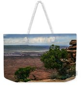 View Of Canyonland Weekender Tote Bag