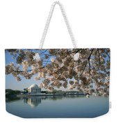 View Of Cherry Blossoms Weekender Tote Bag