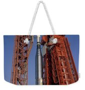 View Of Launch Pad 14 During Prelaunch Weekender Tote Bag