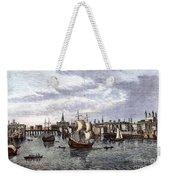 View Of London, 1550 Weekender Tote Bag
