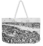 View Of London, 1647 Weekender Tote Bag