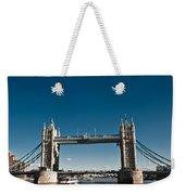 View Of London Bridge From The Thames Weekender Tote Bag