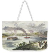 View Of Pittsburgh, 1853 Weekender Tote Bag by Granger