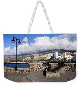 View Of Puerto De La Cruz From Plaza De Europa Weekender Tote Bag