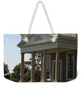 View Of South Portico At Poplar Forest Weekender Tote Bag