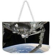 View Of Space Shuttle Discovery Weekender Tote Bag by Stocktrek Images